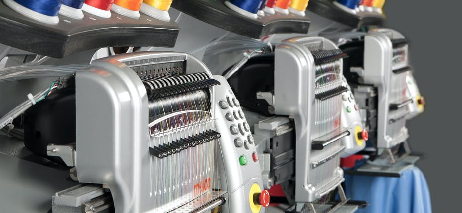 Máquinas de bordar Melco