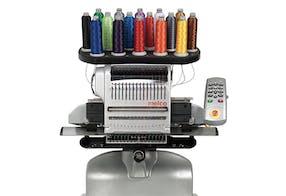 A máquina de bordar para iniciantes