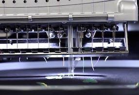1500 pontos por minuto – Melco EMT16plus máquina de bordar