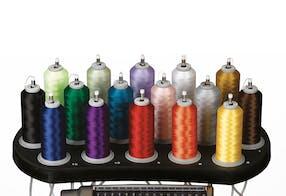 16 agulhas com função de backup de cor – Melco EMT16plus máquina de bordar