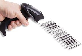 Função de leitura de código de barras – Melco EMT16plus máquina de bordar