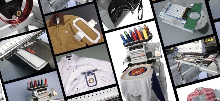 Acessórios para máquinas de bordar – Melco