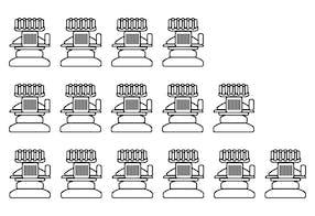 O número certo de cabeças de bordado ou a máquina de bordar correta – Melco Calculator