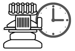 Calcular o tempo de produção - Melco Calculator