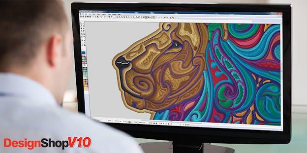 Converta gráficos vetoriais em desenhos de bordados – Melco DesignShop