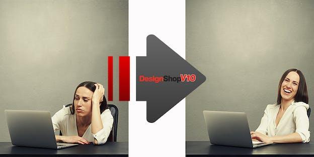 As alterações são visíveis imediatamente – Melco DesignShop