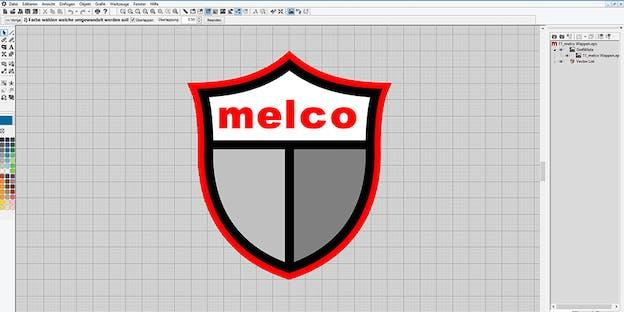 Assistente de Digitalização – Melco DesignShop